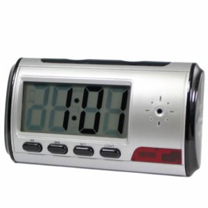 Motion Detector Clock Home Security